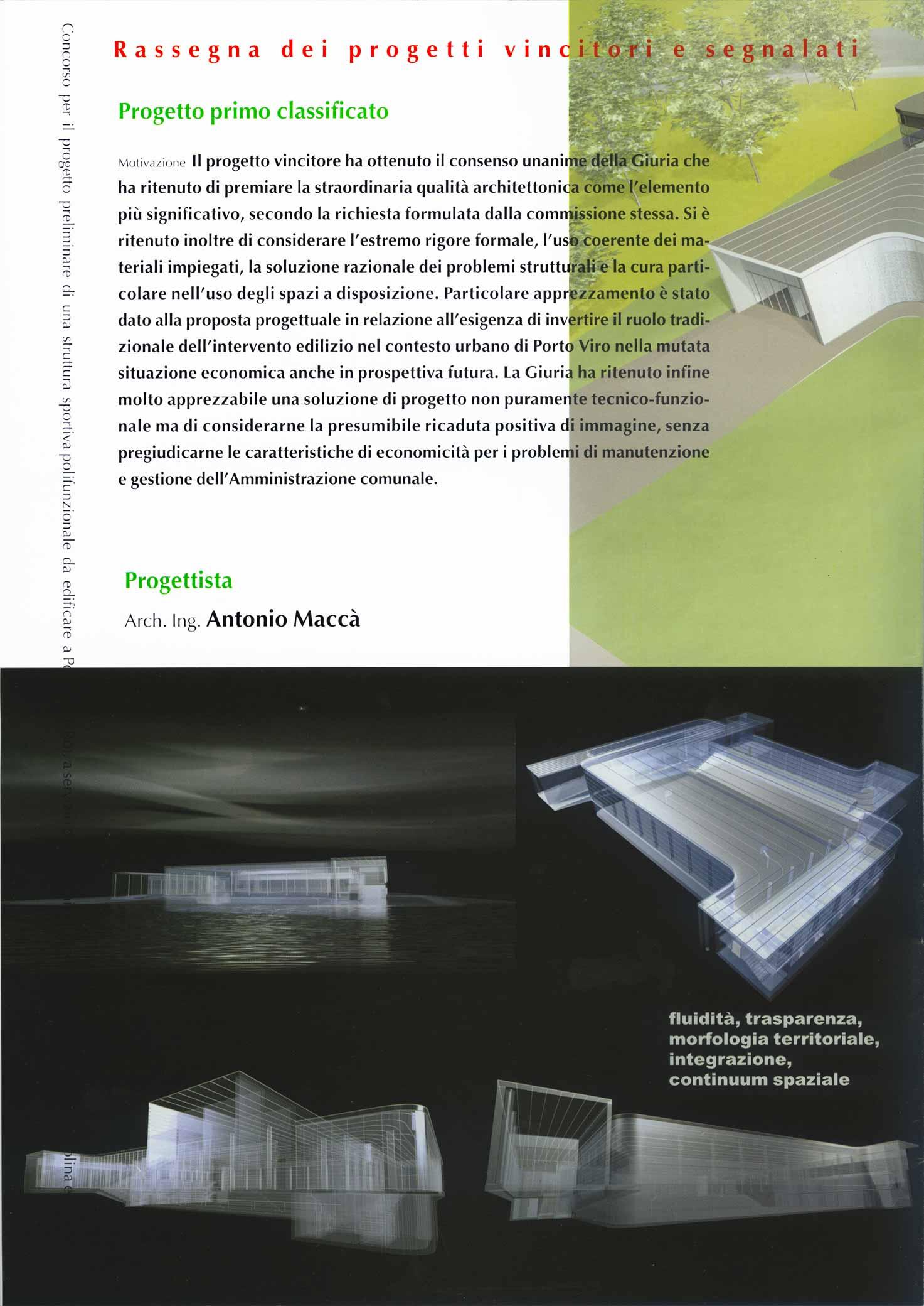 Confluence, Antonio Maccà